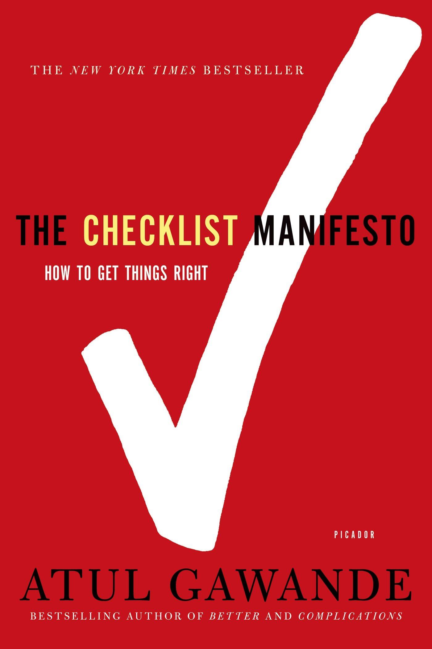 ChecklistManifesto