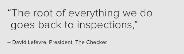 The root of everything we do goes back to inspections