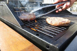 Pre-use inspections of propane cylinders will keep backyard barbecues safe.