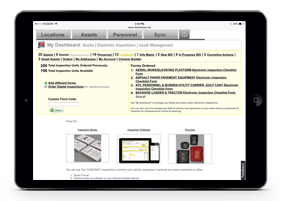 Checklist dashboards