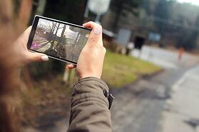 Using mobile inspection software, a photo of a problem can be instantly sent to all appropriate people.