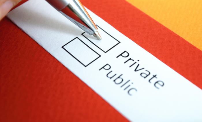 private vs. public