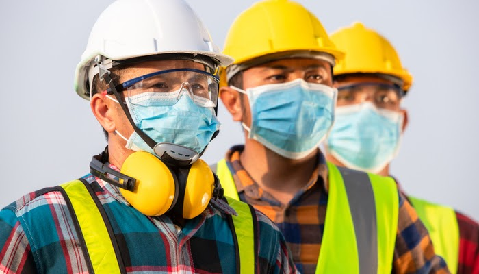 Providing workers with PPE, and ensuring they use it, is essential in the construction industry.