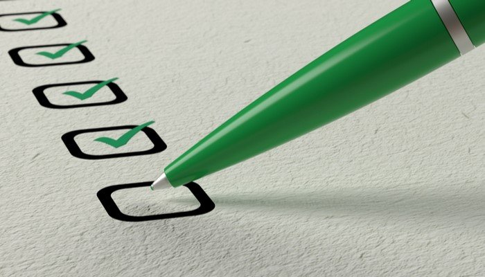 Checklists are valuable in business just as in everyday life.